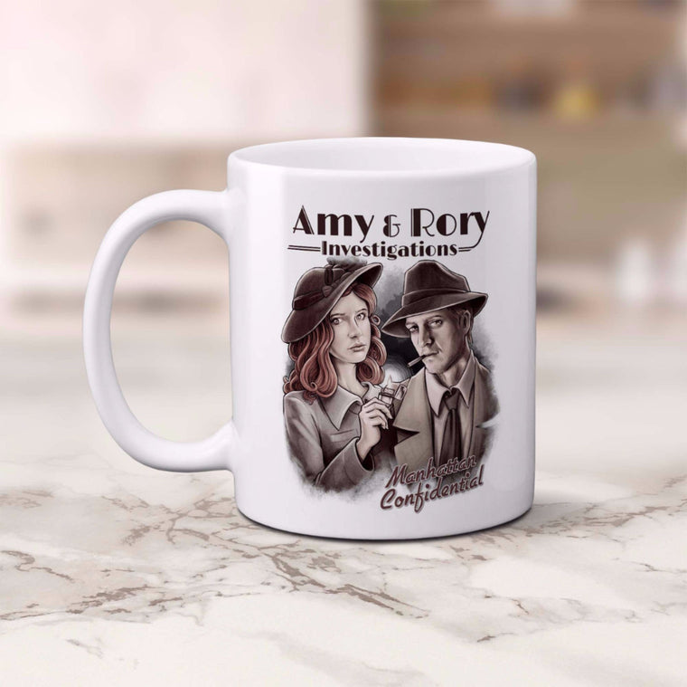 Doctor Who: Amy & Rory P.I Mug