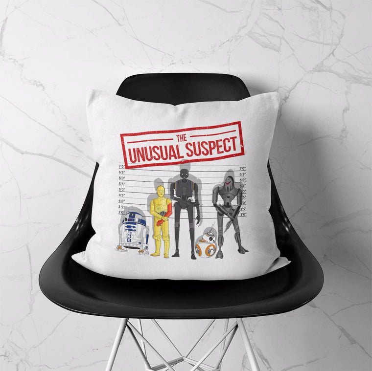 The Unusual Suspect Cushion