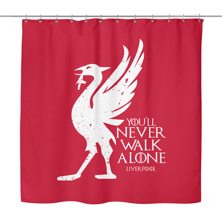 House Liverpool Shower Curtain