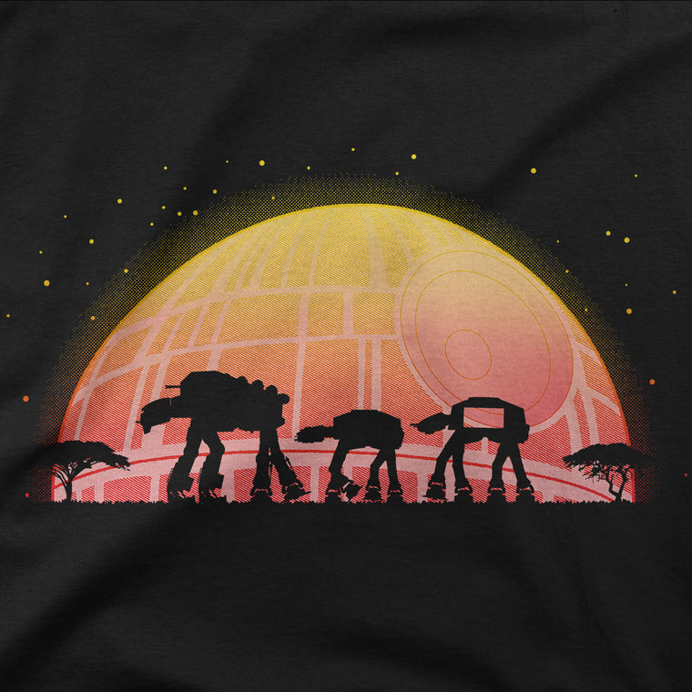 Star Wars AT-AT Raglan Tshirt