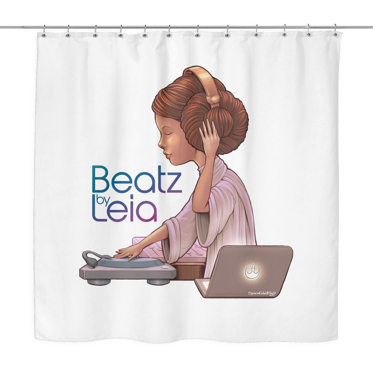 Beatz by Leia Shower Curtain