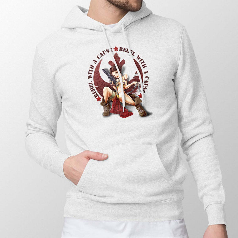 Rebel With A Cause Men's Pullover Hoodie