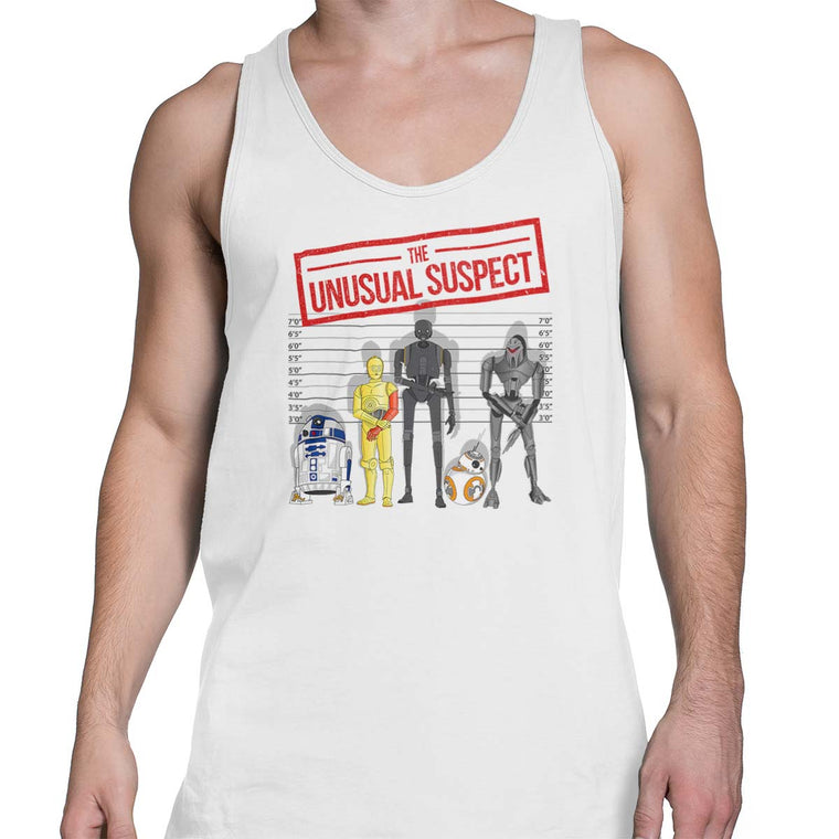 The Unusual Suspect Men's Tank Top