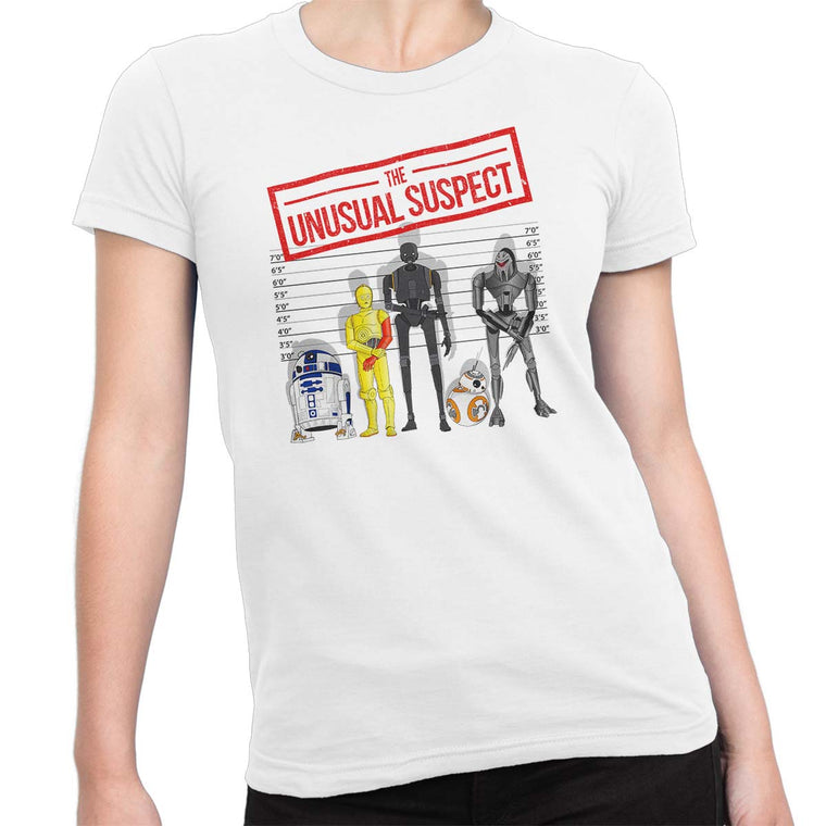 The Unusual Suspect Women's Classic Fitted Tee