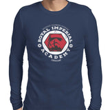star wars imperial academy long sleeve navy