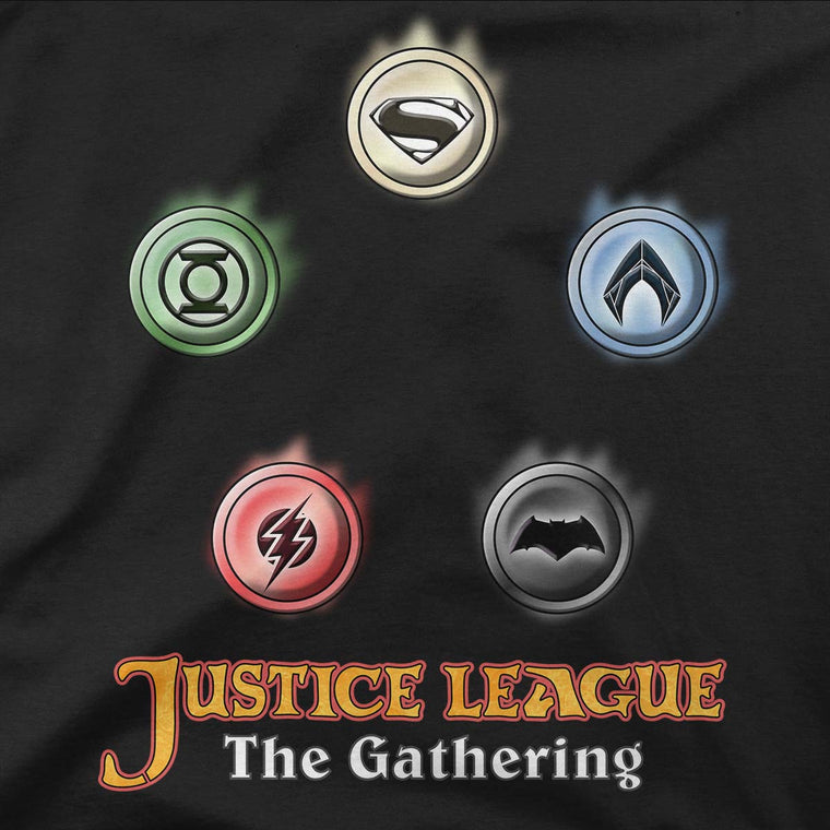 Justice League The Gathering Men's Classic Tee