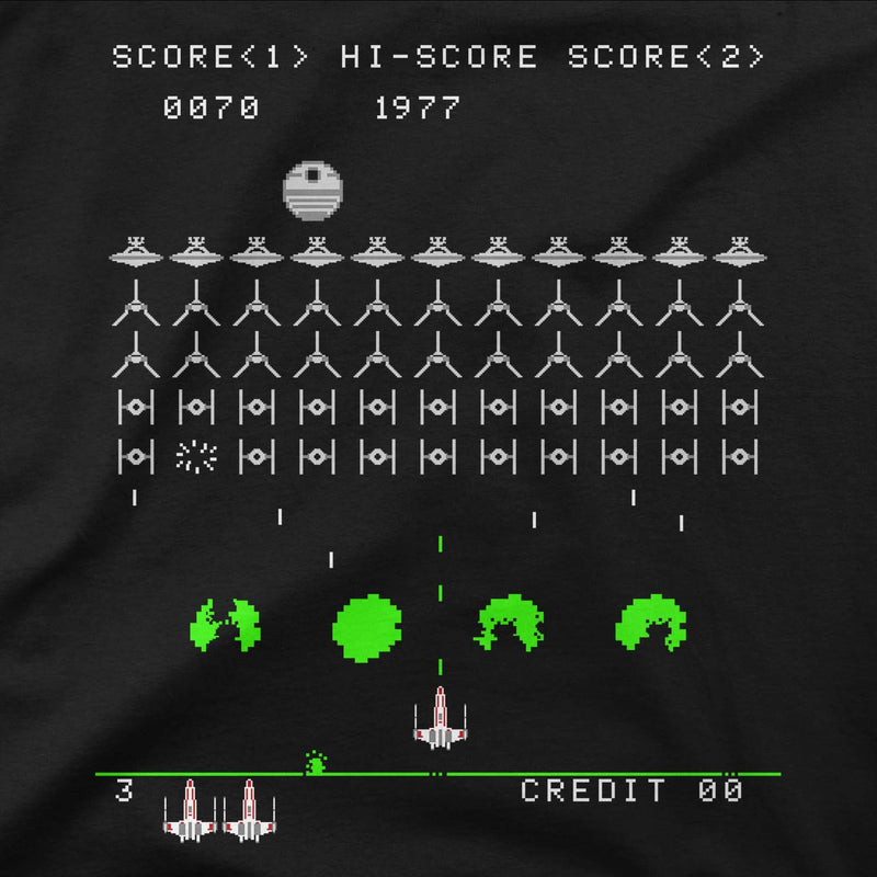 star wars rebel invaders tee design