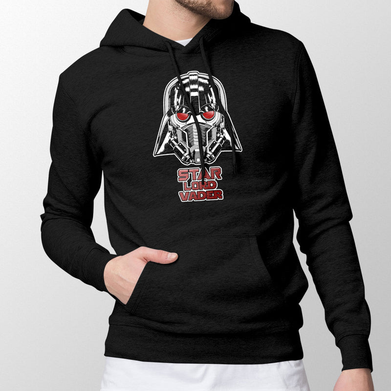 star wars marvel hoodie black
