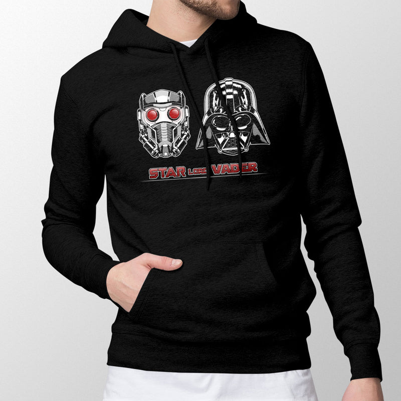 star wars marvel star lord vader hoodie black