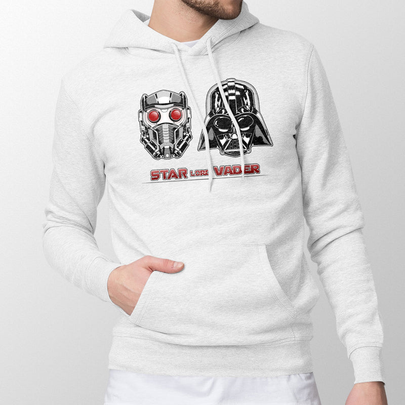 star wars marvel star lord vader hoodie white