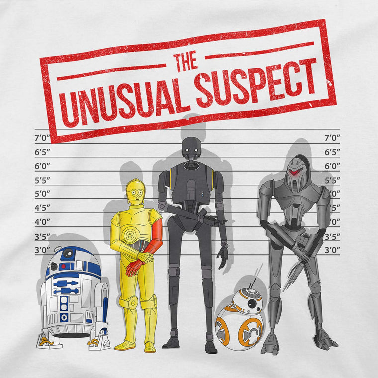 The Unusual Suspect Women's Racerback Tank