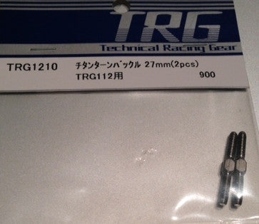 TRG1210 - Titanium Turn-buckle 27mm 2pcs