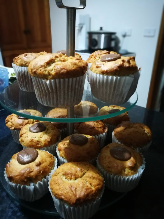 Easy Bulk Banana Muffins recipe