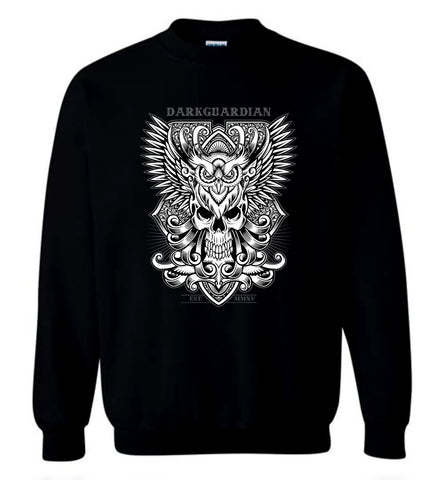 Dark Guardian Men Awesome T Shirt Angel Guard Sweatshirt Black Sweater For Men - Sport Fun Shop