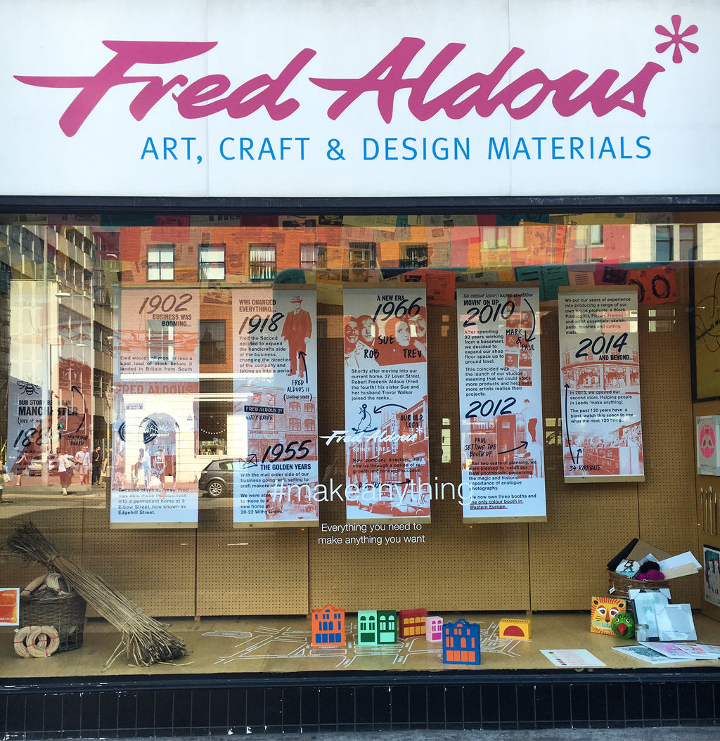 Fred Aldous - A Brief History