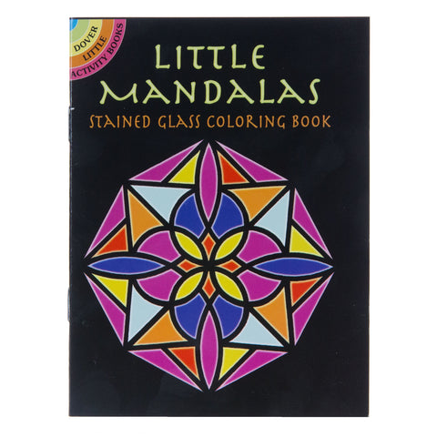 Little Stained Glass Mandalas
