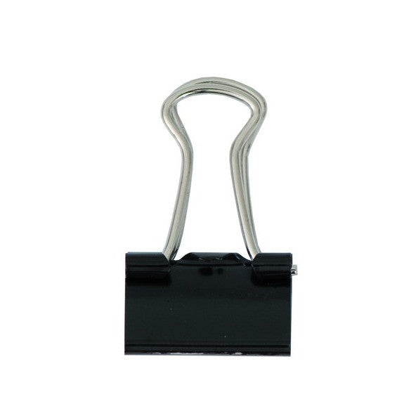 Rico - Binder Clips 15 mm. Black 24 Pcs