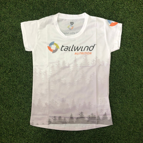 Tailwind Tech Tee - White Forest - Women (TROPIC)