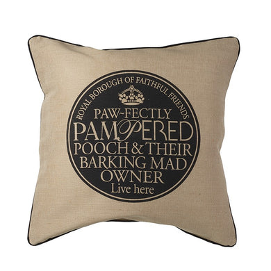 Pampered Pooch Cushion