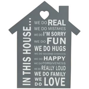 'In This House' Sign