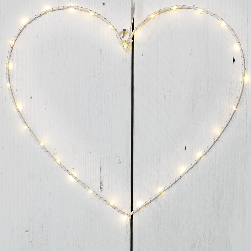 Wire LED Heart