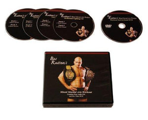 Bas Rutten DVD Training guides