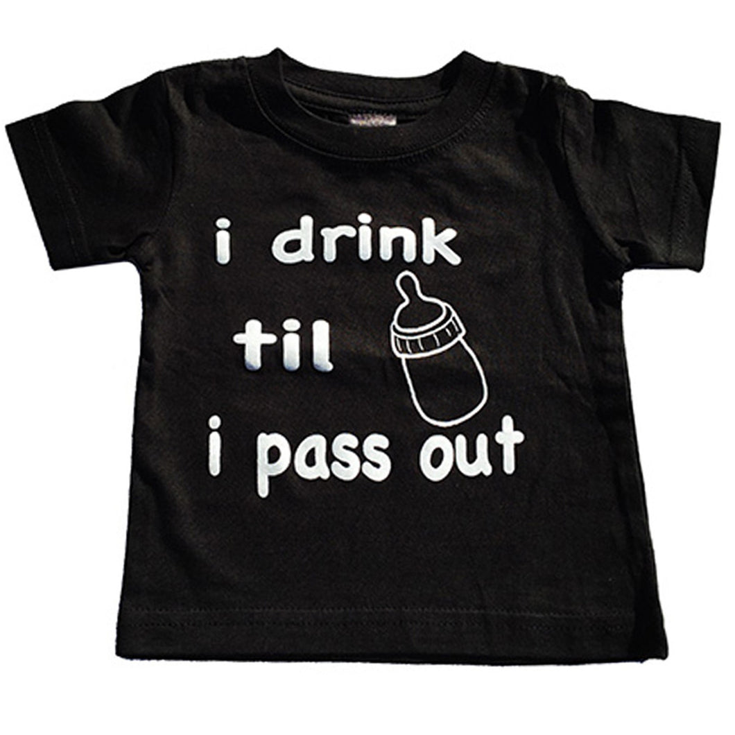 I DRINK TIL I PASS OUT TEE