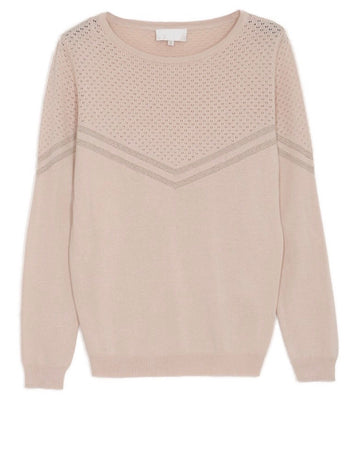 MAGALIE JUMPER IN POWDER PINK