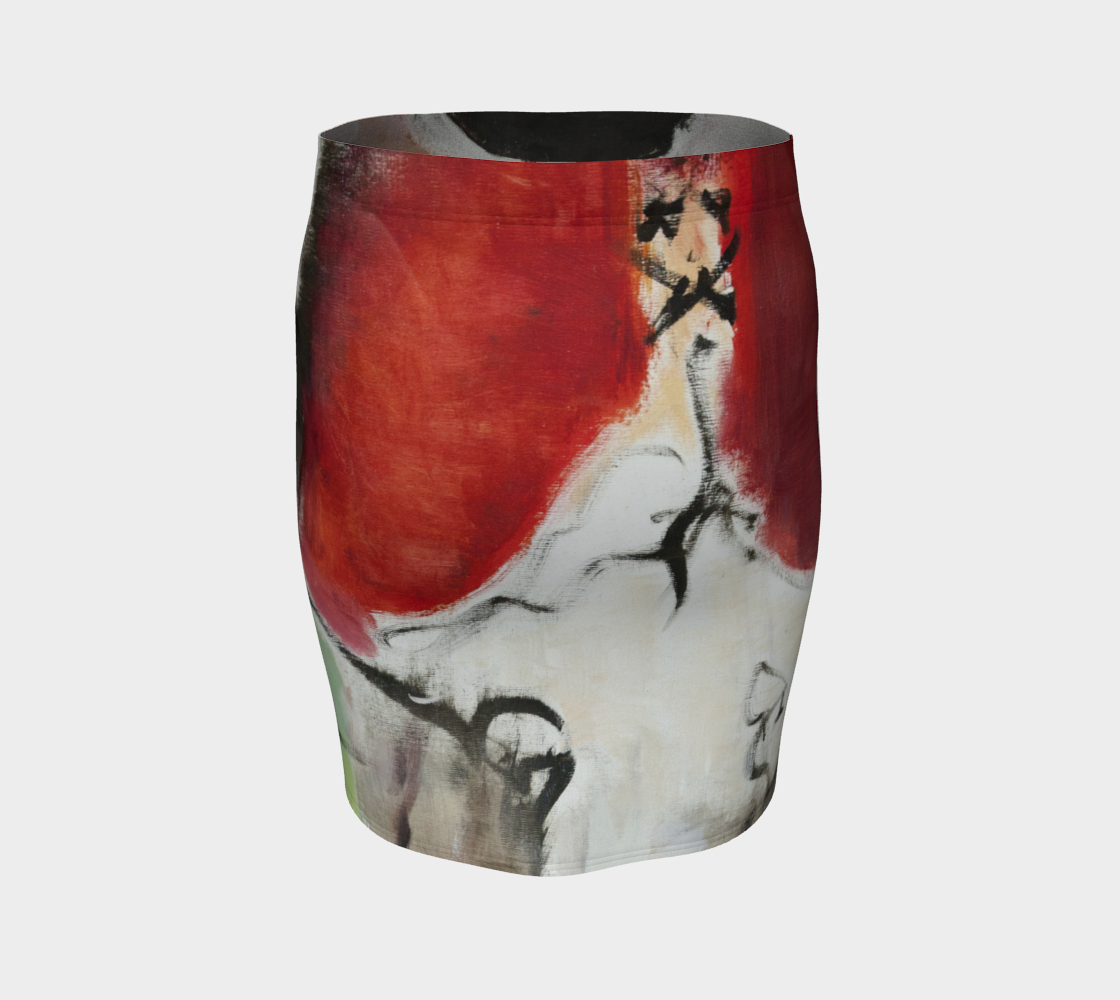 Fitted Skirt - Cafè des Artes
