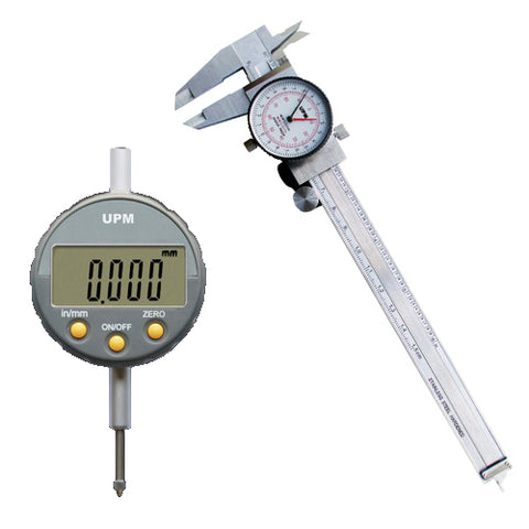 Micrometers, Indicators and Calipers