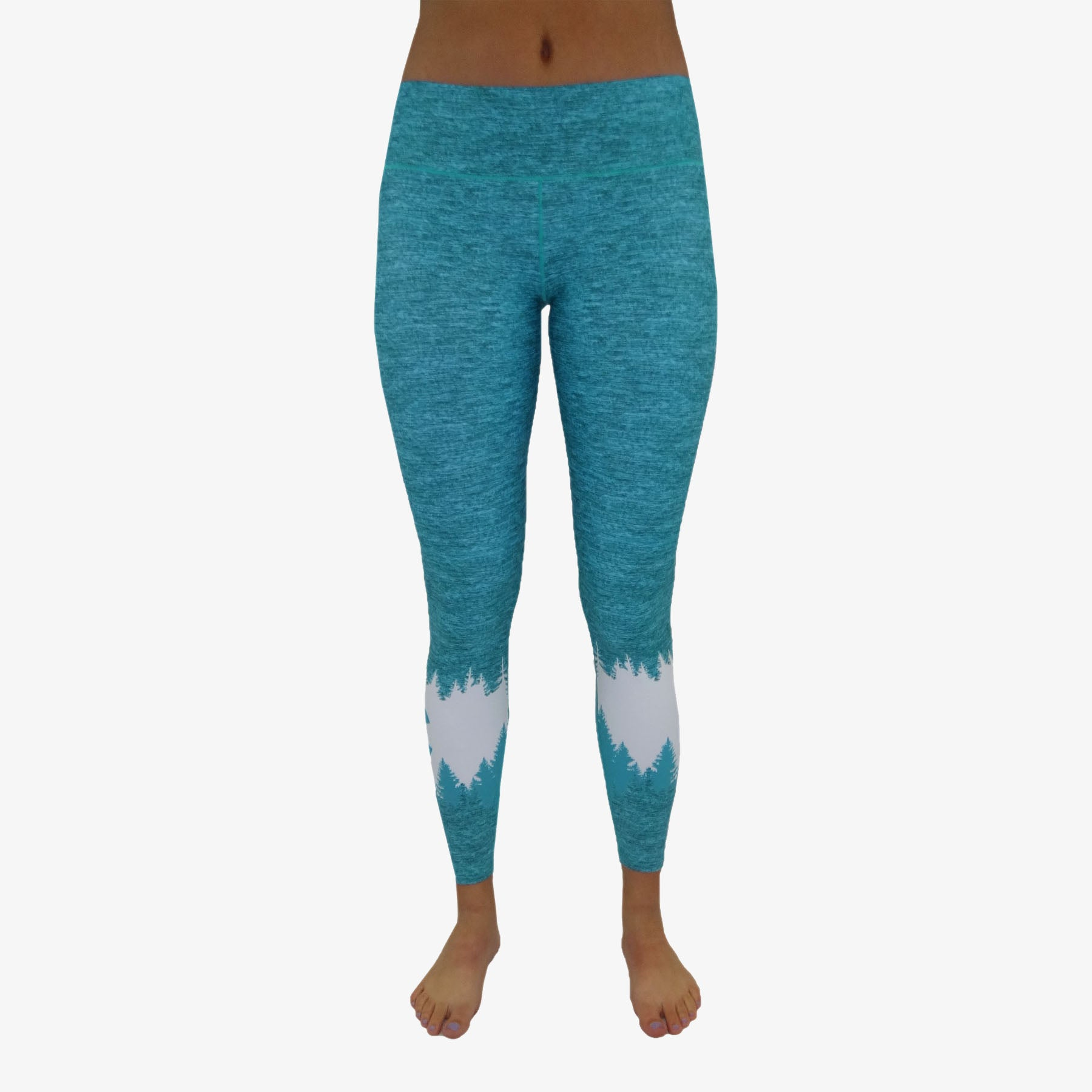 Women's Colorado Flag Mountain Yoga Pant
