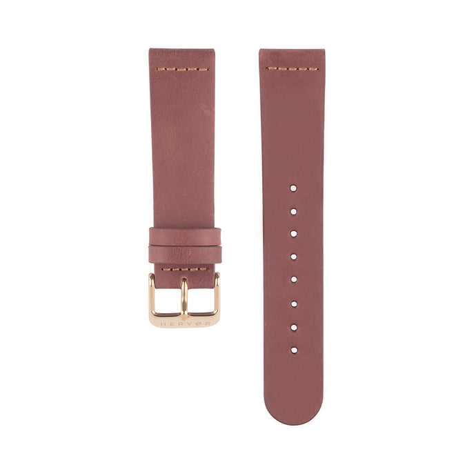 Leather Strap - Dusty Rose