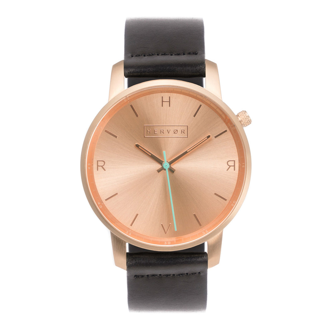 Tyrfing Rose Gold & Classic Black Strap