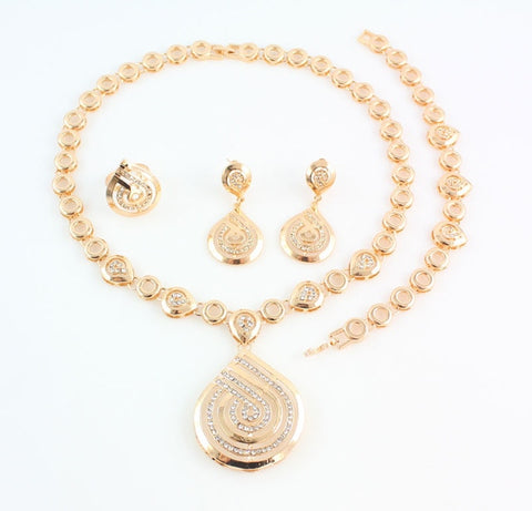 Nigerian Wedding Necklace Set