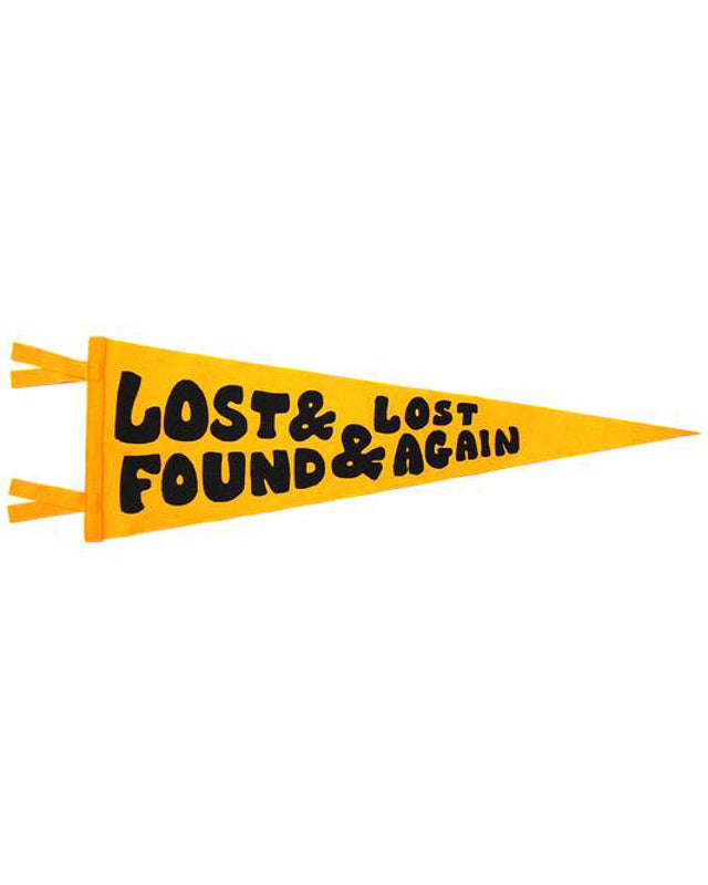 Lost & Found & Lost Again Pennant
