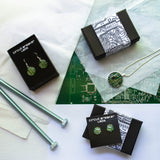 Circuit Board Bobby Pins - Hair Accessories
