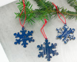 Circuit Board Snowflake Ornament