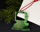 industrial chic circuit board ornament