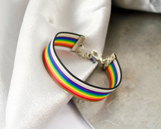 Ribbon Cable Adjustable Bracelet with Resistor