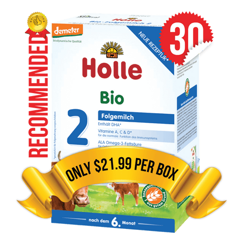 30 Boxes of Holle Stage 2 (600g)