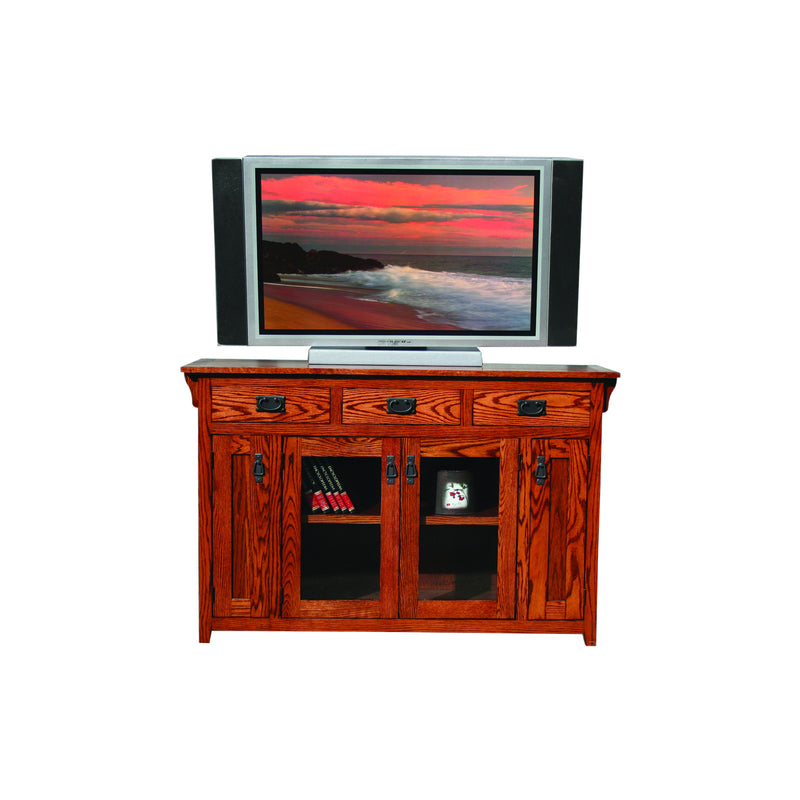 "American Mission Oak 56"" Entertainment Console"