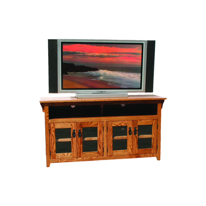 "American Mission Oak 56"" Open TV Console"