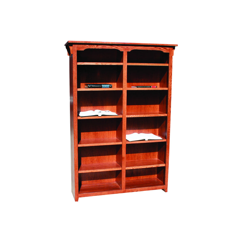 "American Mission Oak 48""W Standard Bookcase"