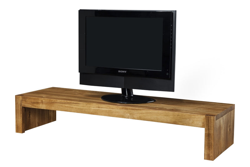 Natural Rustic Albus TV Riser Stand