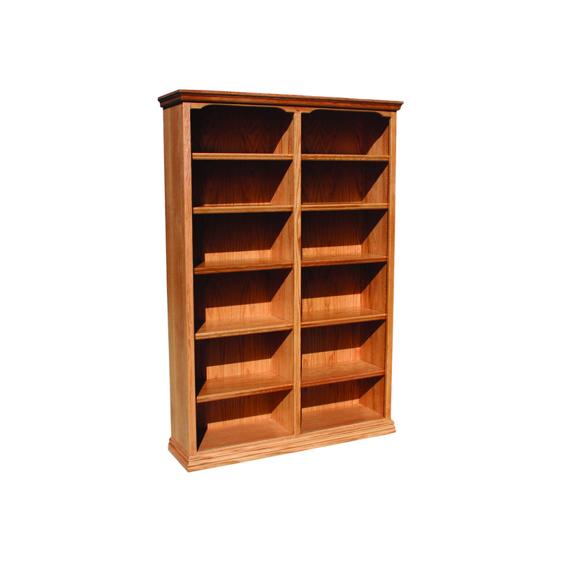 "Casano Traditional Oak 48""W Standard Bookcase"