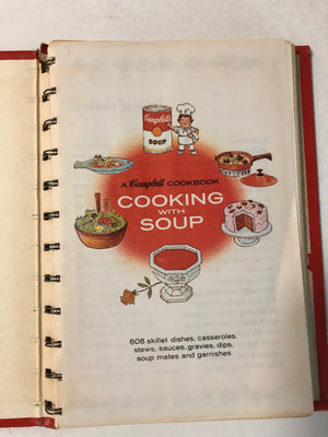 Cooking With Soup A Campbell Cookbook - Slickcatbooks
