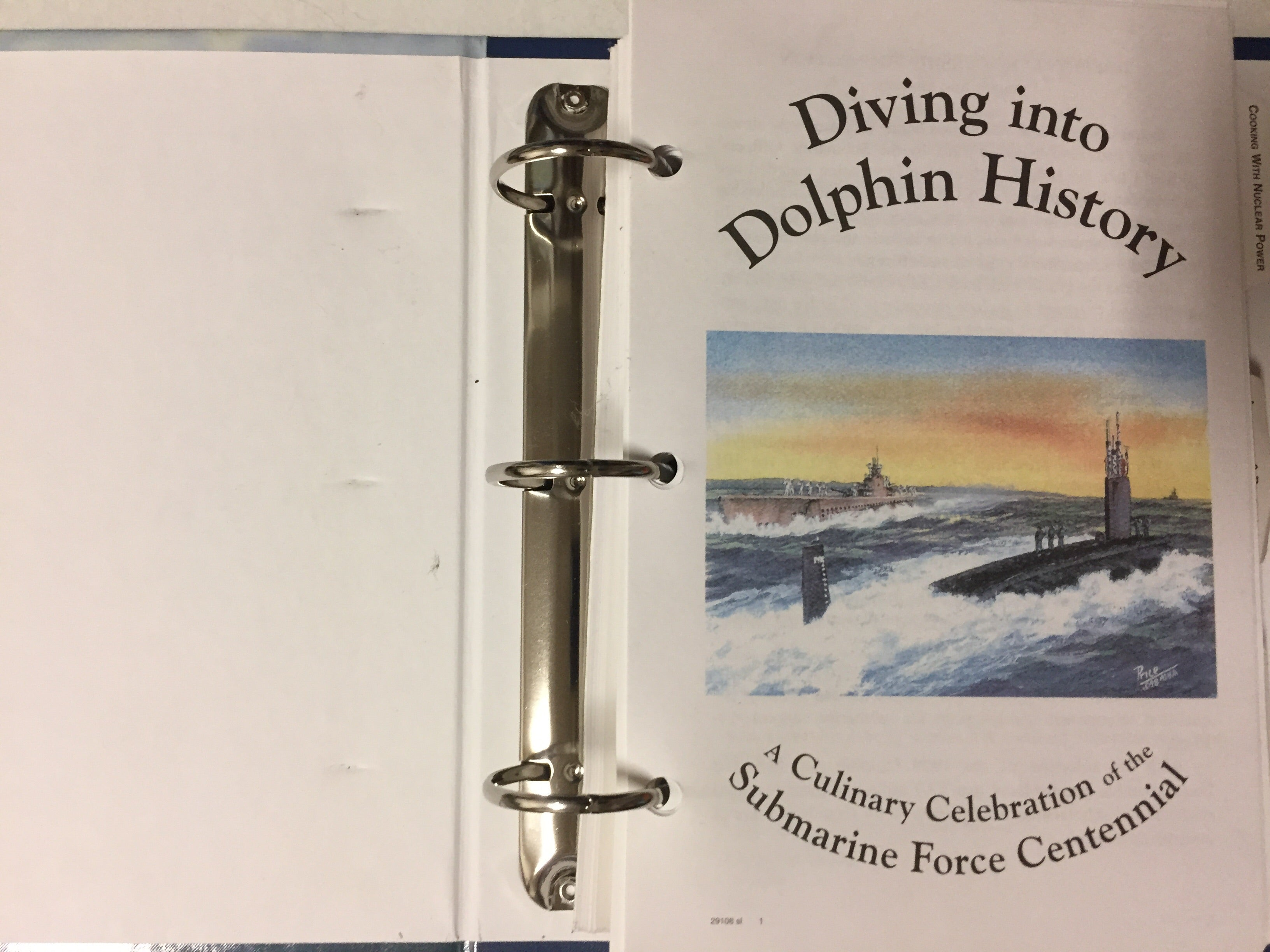 Diving Into Dolphin History A Culinary Celebration of the Submarine Force Centennial - Slickcatbooks