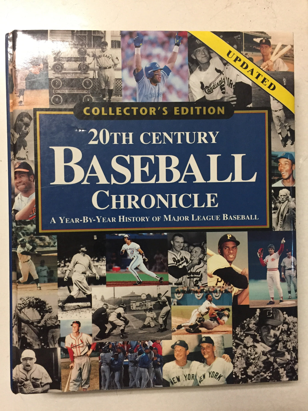 20th Century Baseball Chronicle A Year By Year History of Major League Baseball - Slick Cat Books