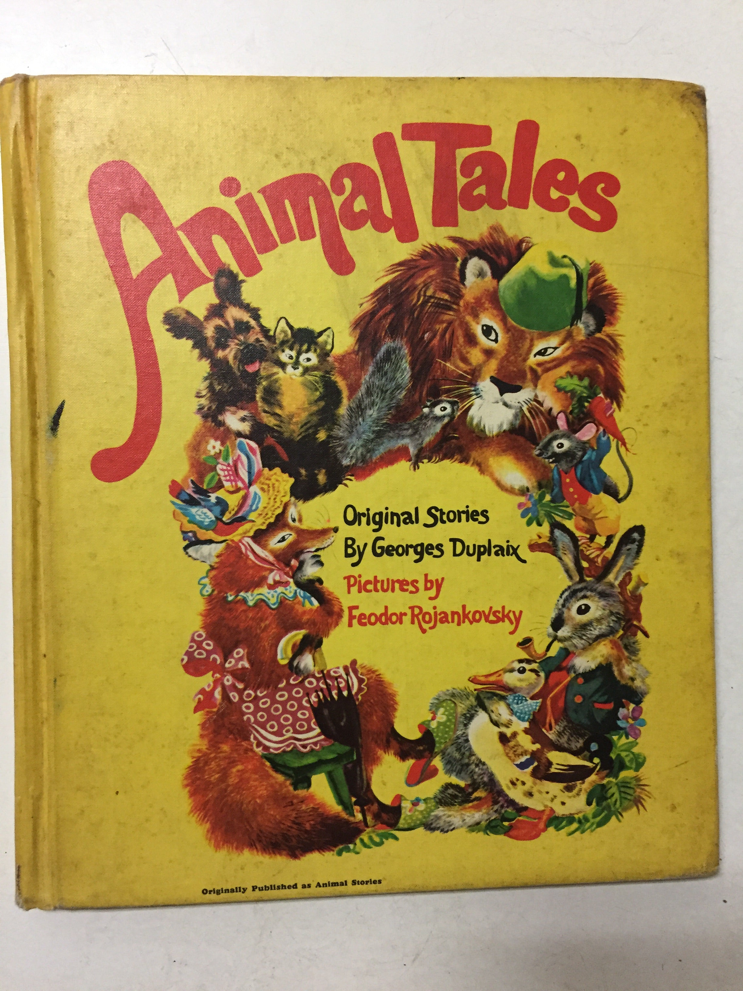 Animal Tales - Slick Cat Books