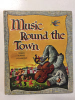 Music Round the Town - Slickcatbooks